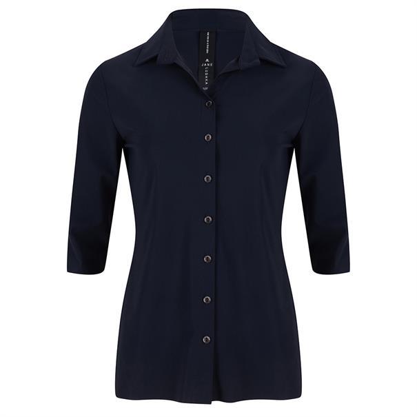 Jane Lushka blouse BB710UKS in het Donker Blauw