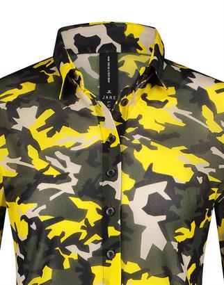 Jane Lushka blouse CMK72121010 in het Army