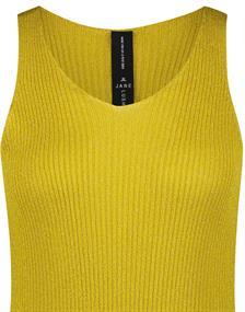 Jane Lushka blouse KN182002 in het Geel