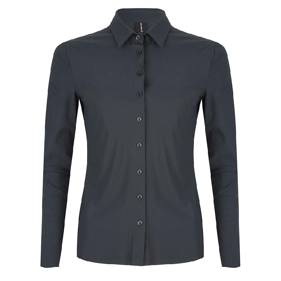 Smit Mode: Jane Lushka blouse u719aw10 in het Donker grijs