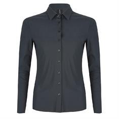 Jane Lushka blouse u719aw10 in het Donker grijs