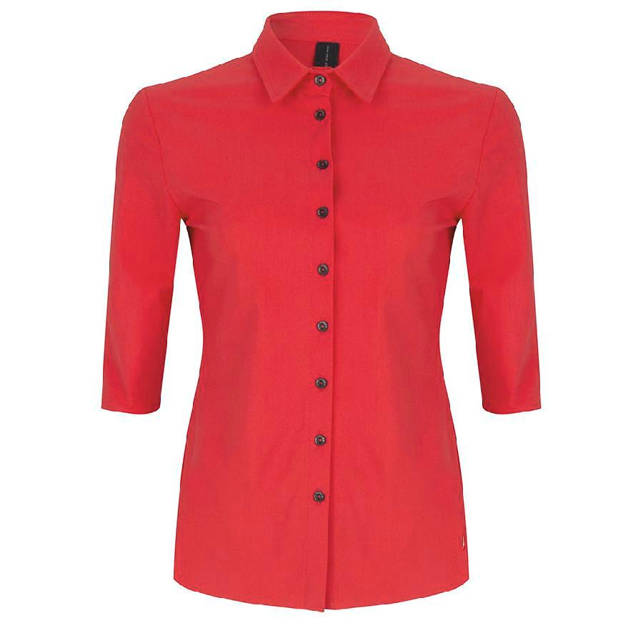 Jane Lushka blouse u719ss10 in het Rood