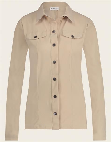 Jane Lushka blouse U721180 in het Offwhite