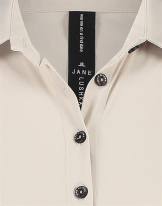 Jane Lushka blouse U72121010 in het Offwhite