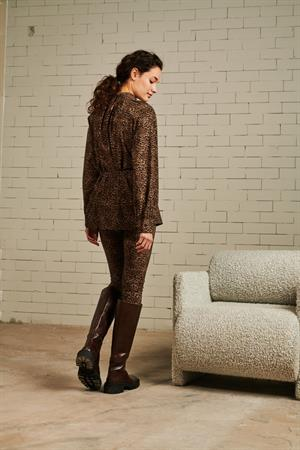 Jane Lushka blouse UAJ7211372 in het Brique