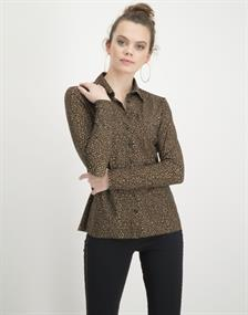 Jane Lushka blouse UDS720AW10 in het Beige