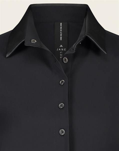 Jane Lushka blouse UL7211110 in het Zwart