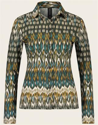 Jane Lushka blouse UMG7211100 in het Groen