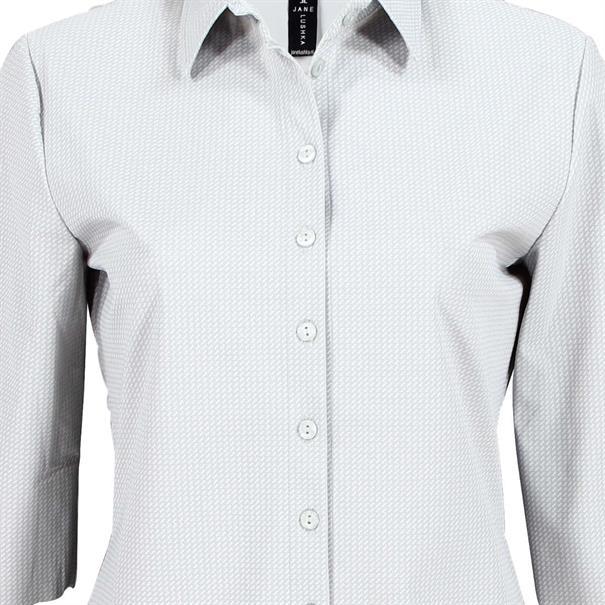 Jane Lushka blouse up718ss10 in het Zilver