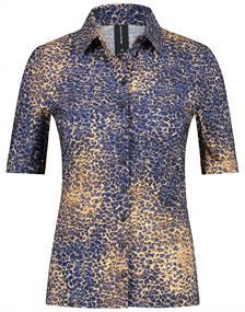 Jane Lushka blouse URB72121010 in het Donker Blauw