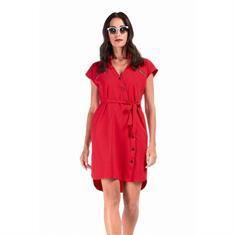 Jane Lushka jurk u919ss40 in het Rood