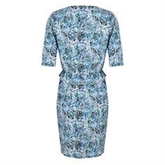 Jane Lushka jurk UBS920SS301 in het Hemels Blauw