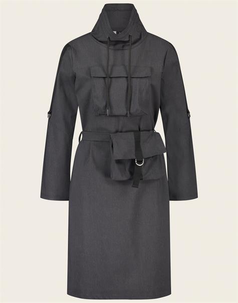 Jane Lushka jurk UNN92114095G in het Antraciet