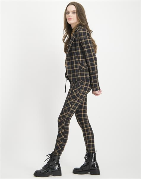 Jane Lushka pantalons Skinny UBS220AW300W in het Zwart