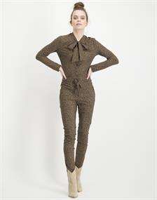 Jane Lushka pantalons Slim Fit UDS220AW300Z in het Beige