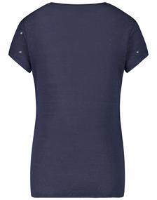 Jane Lushka t-shirts P6212150L in het Donker Blauw