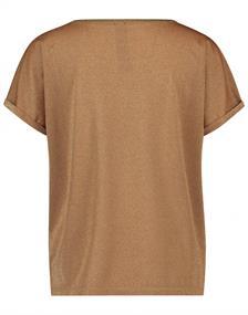 Jane Lushka t-shirts RP620AW20 in het Camel