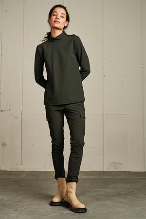 Jane Lushka t-shirts U62114565 in het Greige