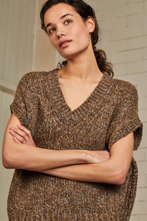 Jane Lushka trui 5777 in het Taupe