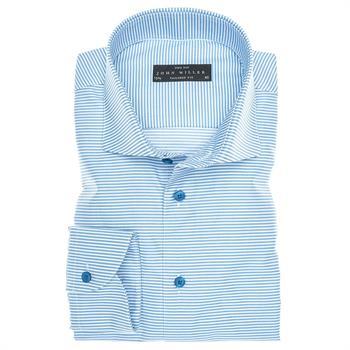 John Miller business overhemd Tailored Fit 5135973 in het Blauw