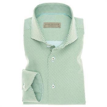John Miller business overhemd Tailored Fit 5136007 in het Groen
