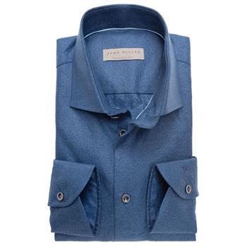 John Miller business overhemd Tailored Fit 5136488 in het Donker Blauw
