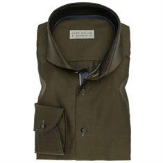 John Miller overhemd 5135727 in het Donker Groen