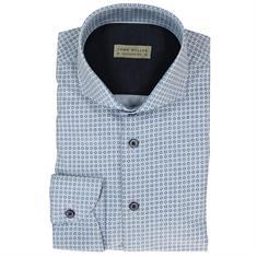 John Miller overhemd 5510465 in het Licht Blauw