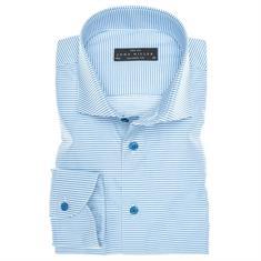 John Miller overhemd Tailored Fit 5135973 in het Blauw