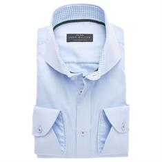 John Miller overhemd Tailored Fit 5136373 in het Licht Blauw