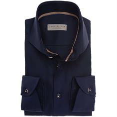 John Miller overhemd Tailored Fit 5136415 in het Blauw