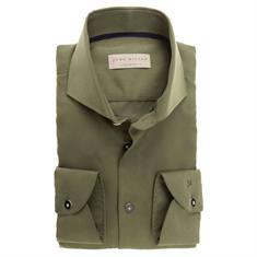 John Miller overhemd Tailored Fit 5136415 in het Groen
