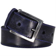 JPLC Pulles Leather Company accessoire 7232p in het Donker Blauw