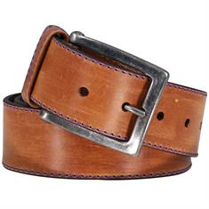 JPLC Pulles Leather Company riem 7232p in het Camel