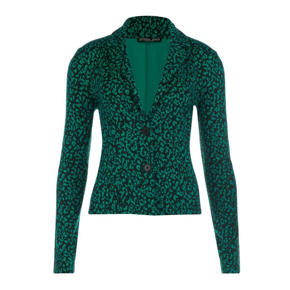 Smit Mode Juffrouw Jansen blazer amor w19 in het Groen