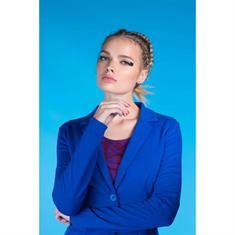 Juffrouw Jansen blazer riki-s19 in het Kobalt