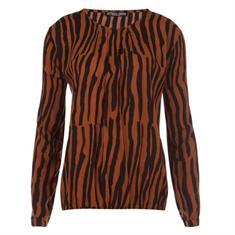 Juffrouw Jansen blouse jody-w19 in het Camel