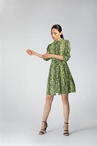 Juffrouw Jansen blouse terri-s20 in het Lime