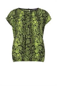 Juffrouw Jansen blouse tess-s20 in het Lime