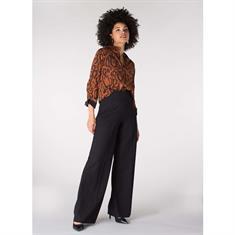 Juffrouw Jansen broeken akse-w19 in het Zwart