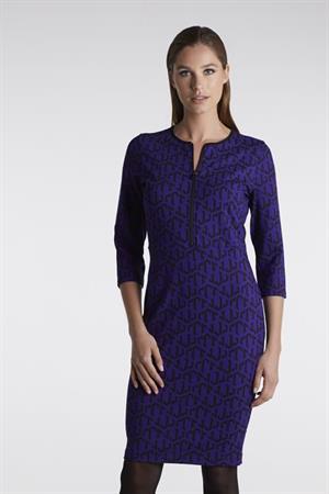 Juffrouw Jansen jurk anoa-w20 in het Paars