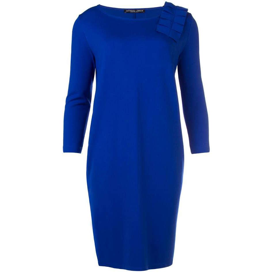Image of Juffrouw Jansen jurk deci-w18 in het Kobalt