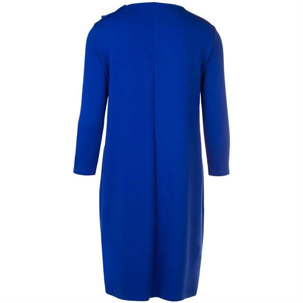 Juffrouw Jansen jurk deci-w18 in het Kobalt