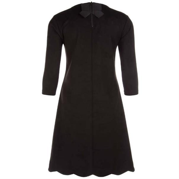 Juffrouw Jansen jurk djen-w19 in het Zwart