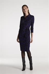 Juffrouw Jansen jurk djoa-w20 in het Paars