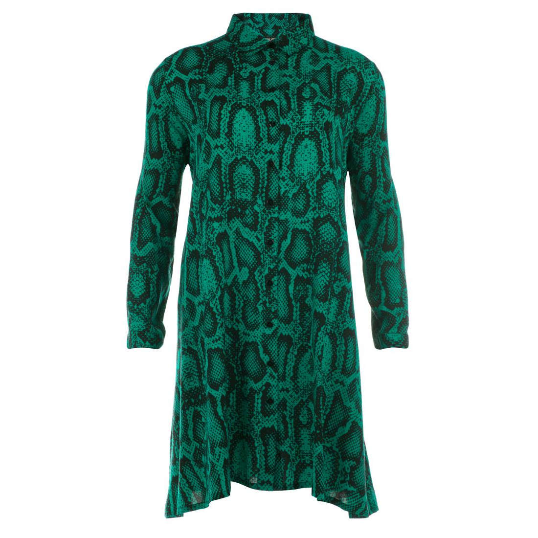 Juffrouw Jansen jurk indy-w19 in het Groen