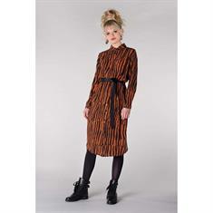 Juffrouw Jansen jurk jade-w19 in het Camel