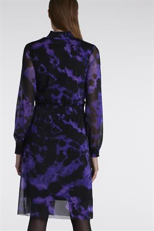 Juffrouw Jansen jurk jolien-w20 in het Paars