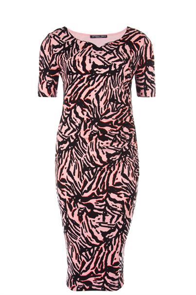 Juffrouw Jansen jurk kiss-s20 in het Roze