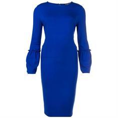 Juffrouw Jansen jurk nicol-w18 in het Kobalt